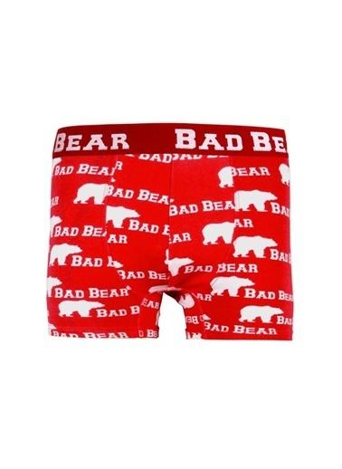 Bad Bear Boxer Kırmızı
